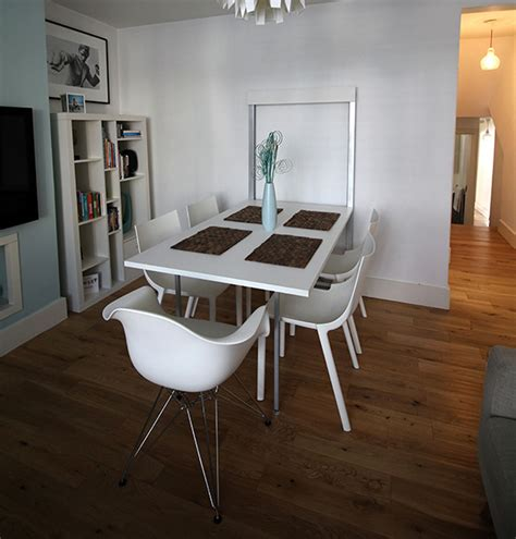 Dining Table Small Space Foldable Dining Table 17