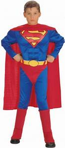 Boy's Superman Deluxe Muscle Chest Costume | Boy's World ...