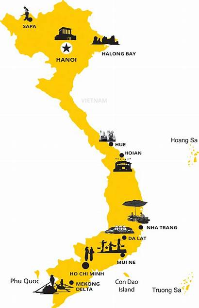 Vietnam Destinations Maps Travel