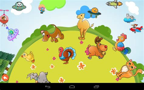 Farm Animals Puzzle Game App for Toddlers