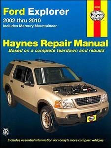 Ford Explorer  Mercury Mountaineer Repair Manual 2002