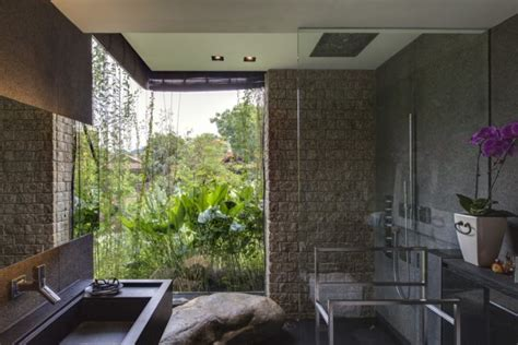 nature house design nature house design with contemporary bathroom
