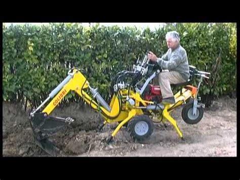 mini micro escavatore trivella  baliani rufino tel    youtube