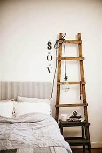 Echelle En Bois Déco : decoraci n con escaleras de mano ~ Dailycaller-alerts.com Idées de Décoration