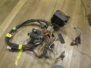 1972 Vega Wagon Under Dash Wiring Harness With Ac  1