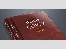 Book Cover PSD Mockup Free PSD Files