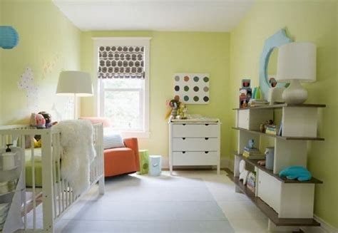 chambre bébé vert la peinture chambre bébé 70 idées sympas