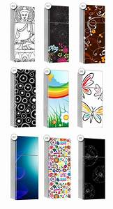 Print Stickers - Vinyl Cover for fridges - Wall Decals