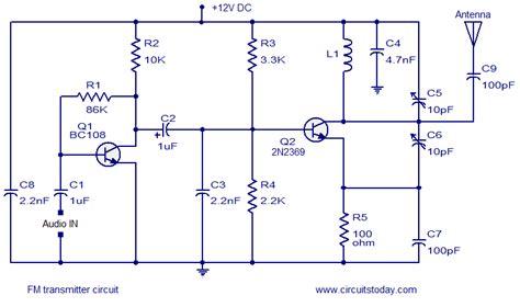 Simple Transmitter Circuit Based Two Transistors