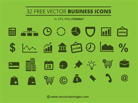 14701 business icon vector free vector business icons vectorize images vectorize