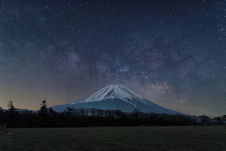 hd wallpaper snow capped mountain photography japan