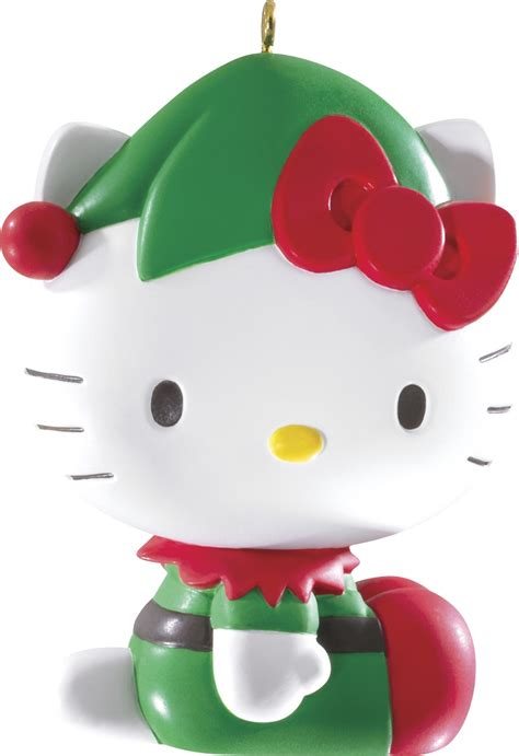 2014 hello kitty christmas ornament carlton heirloom ornaments at hooked on ornaments