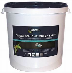 Bitumen Dickbeschichtung 2k : bostik bitumen dickbeschichtung 2k light 30l hobbock teil a b ~ Yasmunasinghe.com Haus und Dekorationen