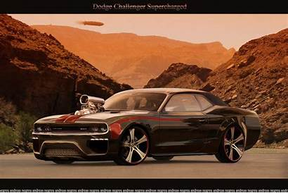 Dodge Challenger Charger Brand Cool Wallpapers Supercharged