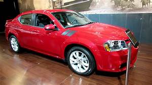 2012 Dodge Avenger R  T Exterior And Interior At 2012