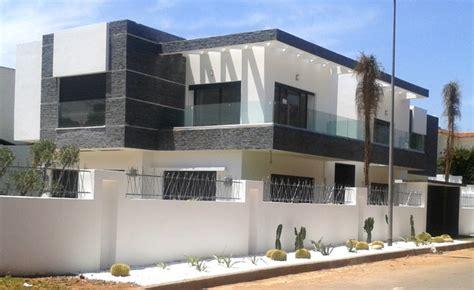 facade de villa moderne facade de villa moderne au maroc gascity for