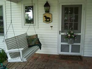 Pictures Of Old Porch Swings