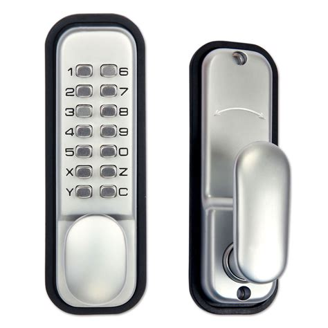 keyless door entry mechanical keypad door lock digital entry code keyless