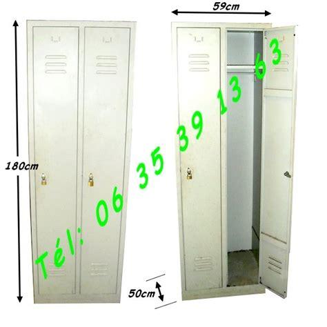 vestiaire metallique d occasion armoire vestiaire m 233 tallique industielle 2 portes colomiers montauban auch albi