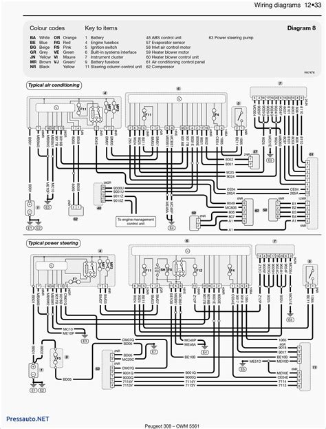wiring diagram  peugeot  stereo   fortable