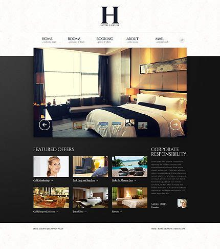 Website Template, Luxury Hotels And Carousels On Pinterest