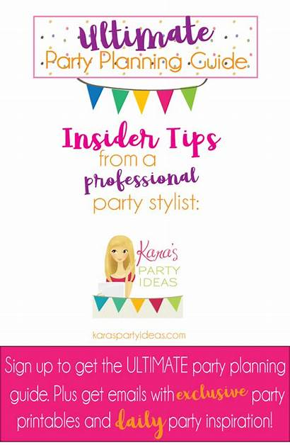 Birthday Party Banner Guide Planning Newsletter Ultimate