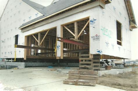 8 lifting a house to add a basement adding a bathroom to
