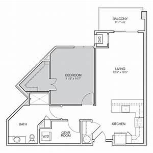Floor, Plan, B