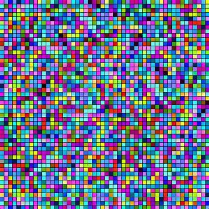 Pixel Disco Tiles Pattern Meme Purple Line