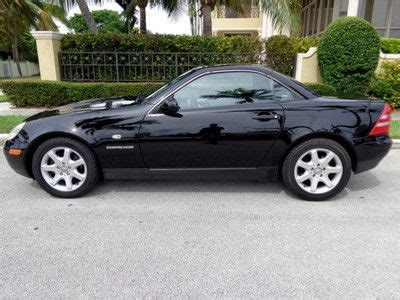 One of the previous owners installed a turbocharger in addition to the. Find used Florida 99 SLK 230 Kompressor Convertible 54,455 Orig Miles Clean Fax No Reserve in ...