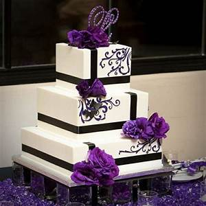 Beautiful Purple Cake Boss Wedding Cakes | iPunya