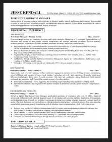 warehouse manager resume skills resume skills for warehouse worker resumes design