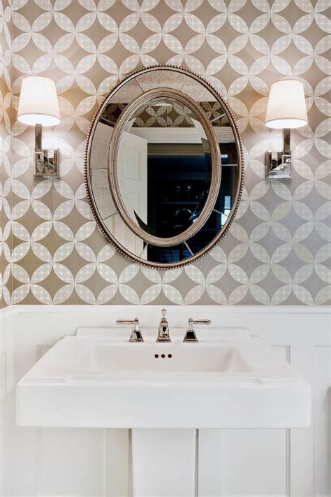powder room mirror powder room contemporary with bathroom cool decorative oval mirrors bathroom decorating ideas