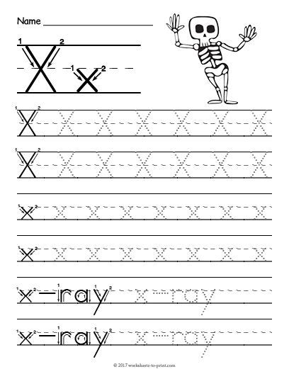 printable tracing letter  worksheet tracing