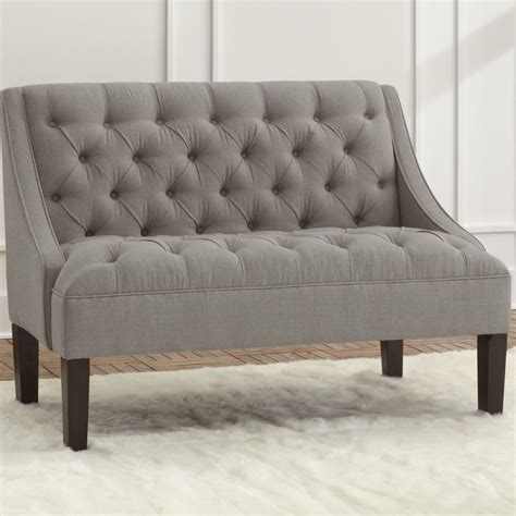 Loveseat Settee by Skyline Furniture Settee Loveseat This High Back