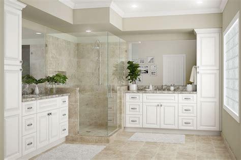 hallmark bath cabinets  arctic white kitchen