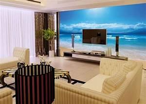 Wandgestaltung Im Wohnzimmer : unterwasserwelt wandgestaltung im wohnzimmer ~ Sanjose-hotels-ca.com Haus und Dekorationen