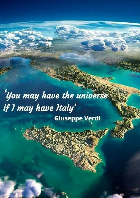 You May Have The Universe, If I May Have Italy Giuseppe