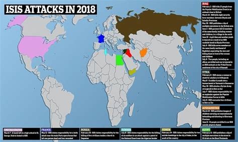 isis terror attacks  map shows    defeated