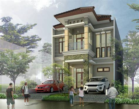 desain rumah mewah lantai dua gambar desain rumah minimalis
