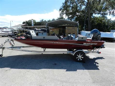 Bass Fishing Used Aluminum Boats For Sale by 2015 Used Ranger Rt 178 Bass Boat For Sale Leesburg Fl