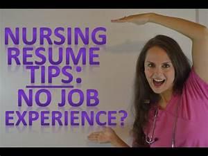 Need To Do A Resumes Nursing Resume New Nurse Tips For Graduates With No Job