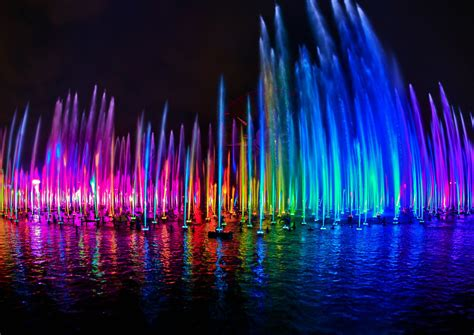 world of color times de agua boquillas e ilimunaci 243 n de