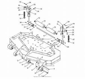 Simplicity 1694771 - 52 U0026quot  Mower Deck Parts Diagram For 48 U0026quot   U0026 52 U0026quot  Mower Deck