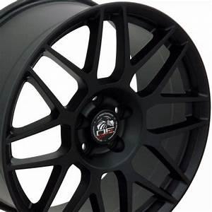 "19"" Fits Ford - Mustang Wheel - Matte Black 19x9"