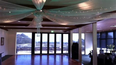 How To Hang Ceiling Drapes For Events - wedding ceiling drapes