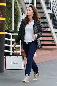 ROBIN TUNNEY Out Shopping in West Hollywood 01/10/2017 ...