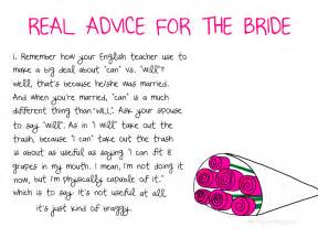 wedding advice advice for the this is not that