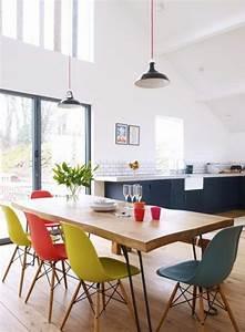 magnifique chaises couleurs salle a manger decoration With salle a manger francaise