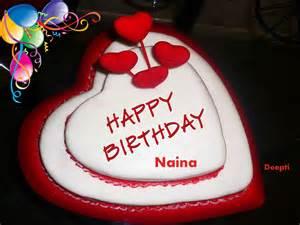 Happy Birthday Cake Heart Shape